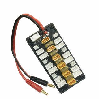 Placa de adaptador de carga paralela XT30 1-3s