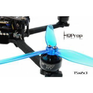 HQ Durable Prop T5X2X3 (2CW+2CCW)-Poly Carbonate Blue