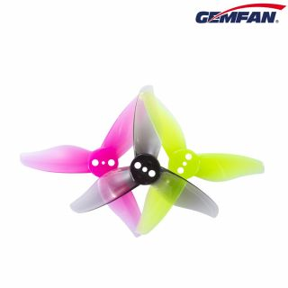GEMFAN HURRICANE 2023-3 TRI BLADE - Clear Gray/Yellow