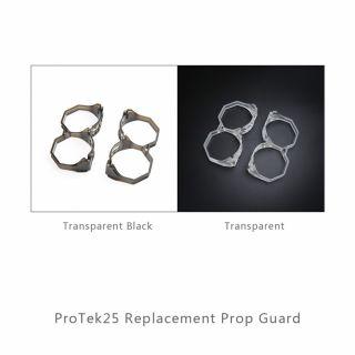 Set de Ductos para Cinewhoop iFlight Protek35 Negro/Transparente
