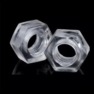 Tuerca Plastica Transparente M3 4Pcs