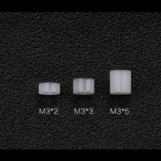 Espaciador Plastico M3 para Stack 4 Pcs - Seleccionar Medida