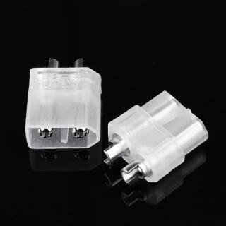 Conector XT60 Transparente (Macho + Hembra)